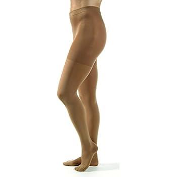 d91a47a93d JOBST Relief Compression Pantyhose 30-40 mmHg, Waist High, Closed Toe,  Medium, Beige