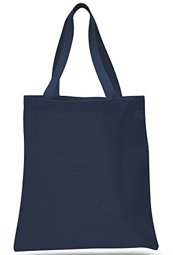 Promotional Priced Heavy Cotton Canvas Shopping Blank Tote Bag Art Craft