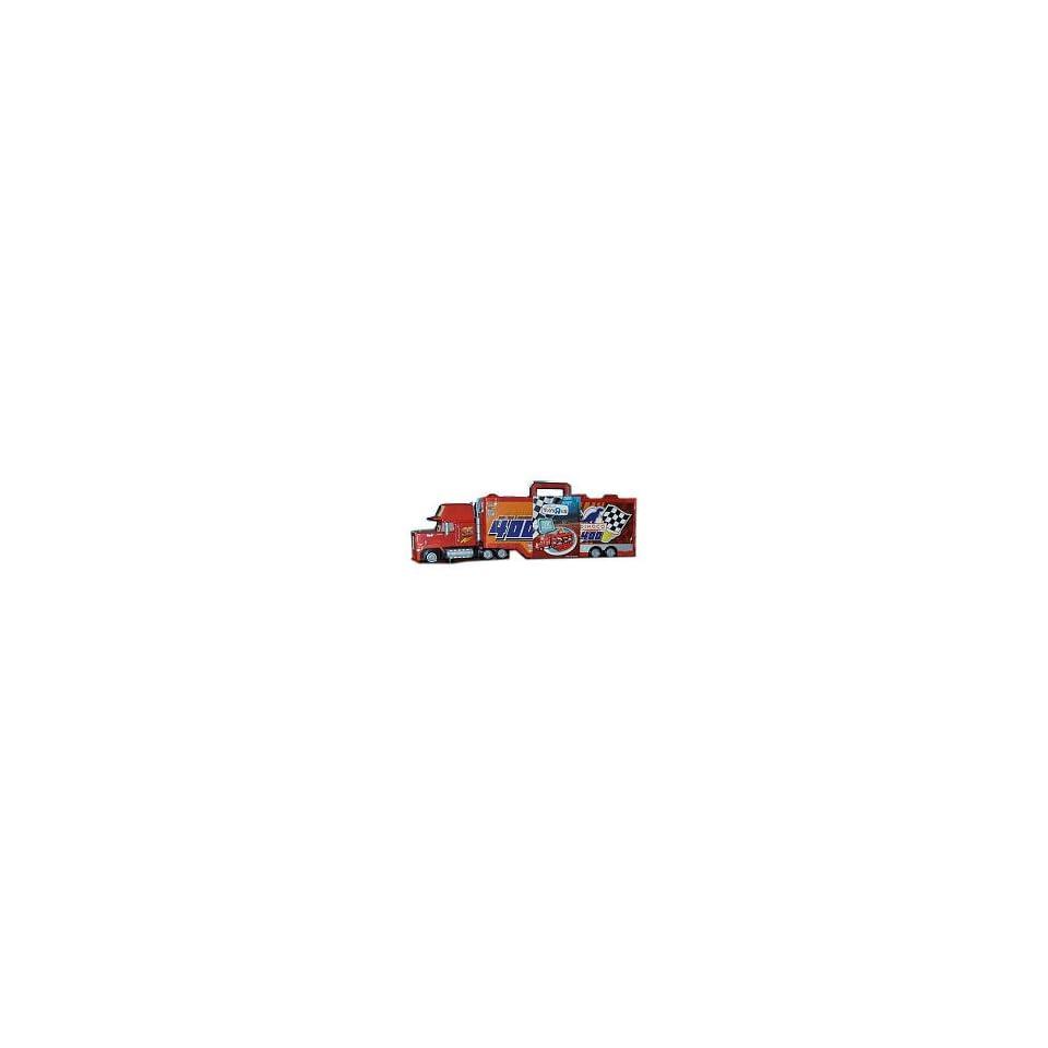 Disney / Pixar Cars Mack Truck Transporter 16 Car Carrying Case 155 Scale Mattel