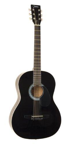 Johnson JG-100-B Student Acoustic Guitar, Black