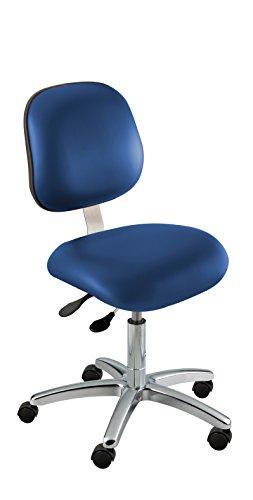 - BioFit Class 100 Chair, Ergonomic; Type O, Grade 2 Vinyl, Blue, Desk High 17-22