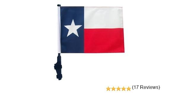 Texas - Bandera de Carrito de Golf con Banderas SSP EZON & Off Parte Inferior Soporte: Amazon.es: Deportes y aire libre