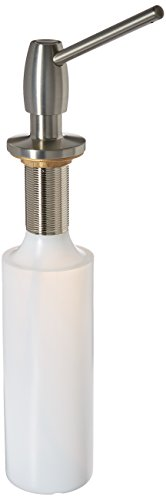Blanco BDSD-ST Deluxe Soap/Lotion Dispenser, Satin Nickel Finish