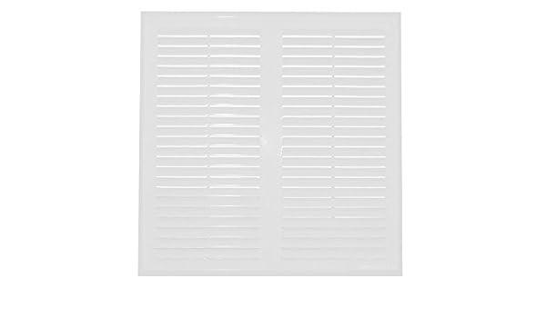 Rejilla de ventilaci/ón Awenta 250 x 250 mm color blanco