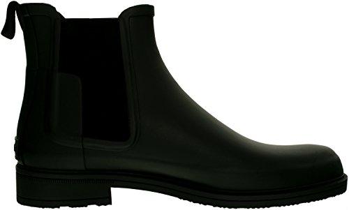 Jagerslaarzen Originele Geraffineerde Rubberen Chelsea-laarzen, Zwart, 10 D (m) Ons