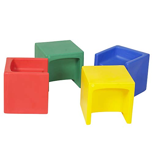Children's Factory Cube Chairs, 15