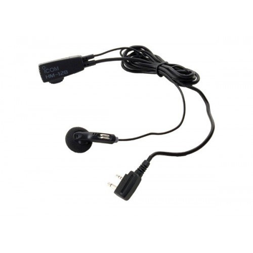 Icom earphone PTT headset HM-128L F3001 F4001 F3011 F4011 F24 F14 -