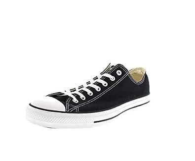 Converse Chuck Tailor All Star Zapatillas de lona, Unisex, Negro, 35 EU