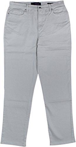 Gloria Vanderbilt Womens Amanda Average Colored Denim Jeans 6 Marble ()