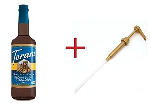 (Sugar Free Brown Sugar Cinnamon Torani + Pump by Torani)