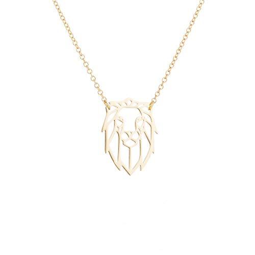 Outline Pendant Necklace - 7