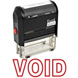 VOID Self Inking Rubber Stamp - Red Ink (42A1539WEB-R)