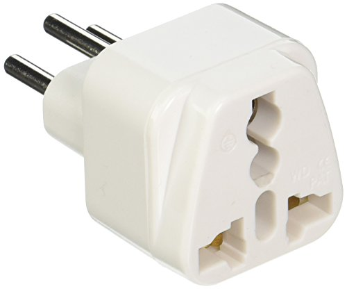 CKITZE B-11AN Grounded Universal Plug Adapter Type J for Switzerland - CE Certified