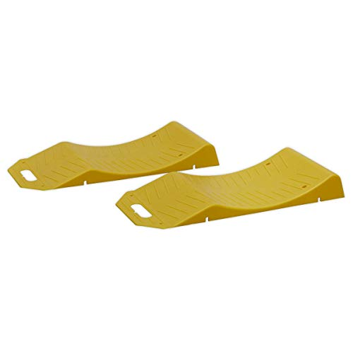 Sealey TS05 Tyre Savers-2.5tonne Ramp 5tonne Capacity per Pair