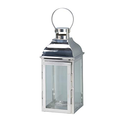 JHY Design Silver Decorative Lanterns 15