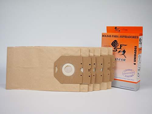 Amazon.com: Sanfor 80515 Bag, Vacuum Cleaner, Paper: Kitchen ...
