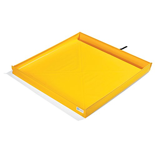 New Pig PAK292 PVC Collapsible Utility Tray, 54.8 Gallon Sump Capacity, 48