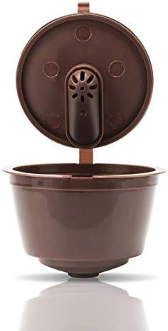 ShoppyStar - Soporte de filtro para cápsulas de café recargable, reutilizable, adaptador para máquinas Nescafe Dolce Gusto: 3st: Amazon.es: Hogar