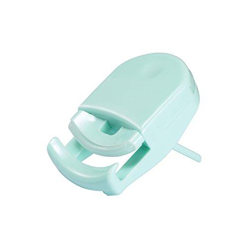 Eyelash Curler, Davocy Best Plastic Eyelash Curler,Mini Cute Travel Eyelash Curler,Green