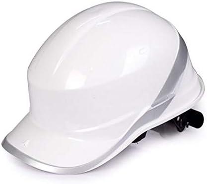MEI XU 建設安全ヘルメット - 高強度ABSヘルメット建設現場リーダーシップ洪水管理建設安全ヘルメット // (色 : 白)