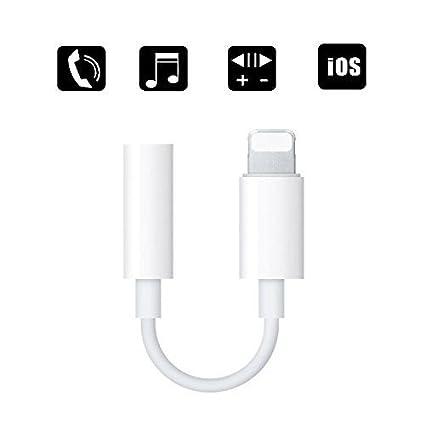 wholesale dealer 177fb 50c33 3.5 mm Headphone Jack Adapter, ZENVAN Best Connector for iPhone X/iPhone  8/8 Plus/iPhone 7/7 Plus/iPad, Support Music Control & Calling Function  (iOS ...