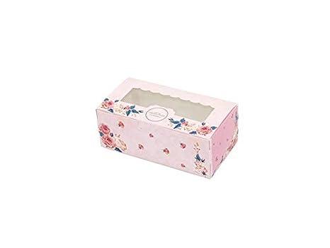 HOUHOUNNPO Cajas de Pastel, Huevo Tarta de Queso Mousse Caja de Embalaje Paquete de Diez: Amazon.es: Hogar