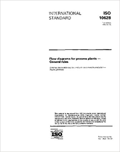 amazon com: iso 10628:1997, flow diagrams for process plants -- general  rules: iso tc 10/sc 11: books