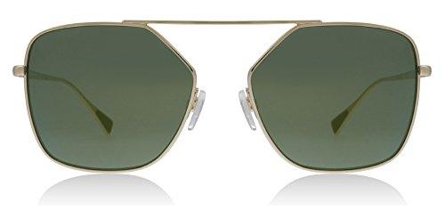 Emporio Armani EA2053 30136R Pale Gold EA2053 Round Sunglasses Lens Category - Emporio Women Armani Sunglasses