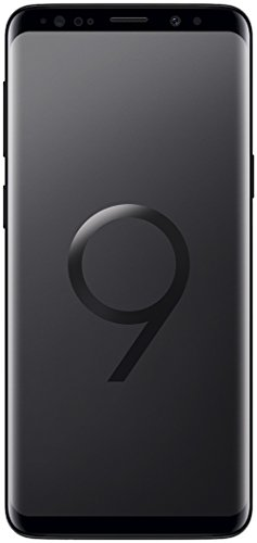 Samsung Galaxy S9 (Dual-SIM) 64GB G960FD Factory Unlocked 4G LTE Smartphone (Midnight Black) - International Version Dual Sim Unlocked Phone