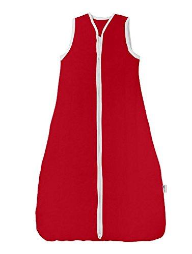 Slumbersac Saco de saco de dormir 2.5 Tog - Plain rojo - varios tamaños desde el nacimiento hasta 10 años rojo rosso Talla:6-18 meses: Amazon.es: Bebé