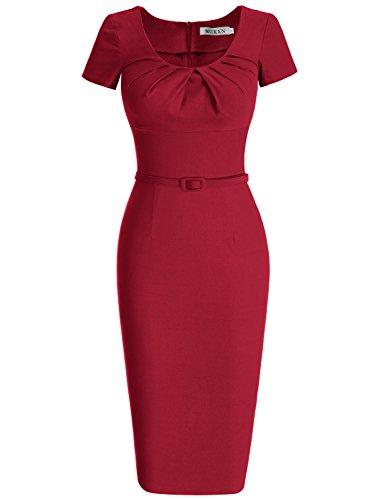 MUXXN Womens Vintage Sleeve Pleated product image