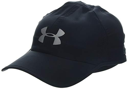Under Armour Men's Shadow 4.0 Run Cap, Black (001)/Reflective, One Size