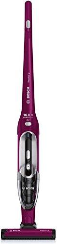Bosch BBH21621 vacuum cleaner - vacuum cleaners (Upright, Dry, Home, Pink, Nickel-Metal Hydride (NiMH), Bagless)