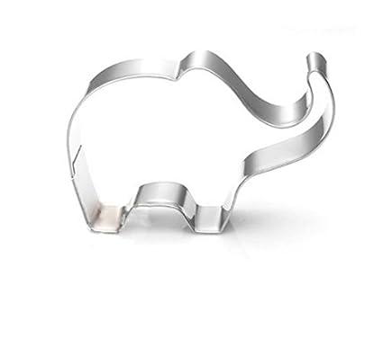 Mindruer - Molde para repostería con diseño de elefante