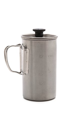 Snow Peak Men's Titanium Coffee Press