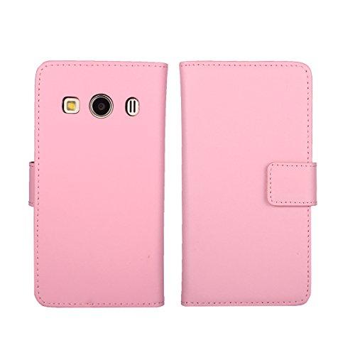TOTOOSE Samsung Galaxy Ace 4 G357 Case, Samsung Galaxy Ace 4 G357 Cover Thin Flip Cover Case Boys Durable Phone Case for Samsung Galaxy Ace 4 G357 by (Pink)