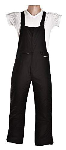 Arctix Men's Essential Bib Overall, Black, Medium/Regular (Rear Tip Split)