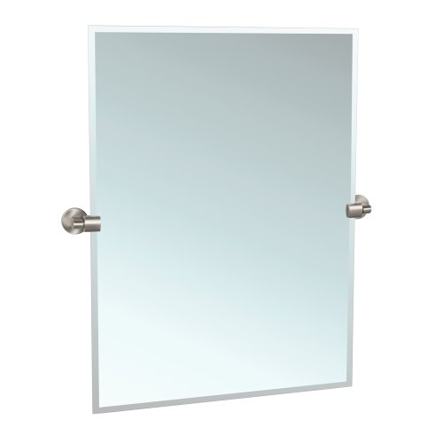 Gatco 4119S Zone Tilting Wall Mirror, Satin Nickel