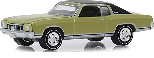 Greenlight 13250-D Greenlight Muscle Series 22-1971 Monte Carlo SS 454 - Cottonwood Green 1:64 Scale