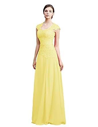 Amazon.com: Tidetell Scoop Neck Bridesmaid Dresses Long