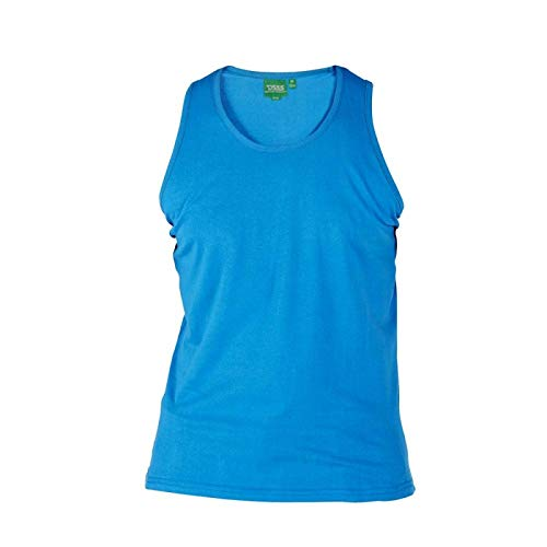 Bleu 6xl En Long 1xl 3 Coton Cobalt Taille Couleurs D555 Pur Longueur Uni To Gilets Options qvWxFqgw6U