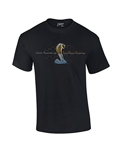 Price comparison product image Mustang Cobra T-Shirt Powered By Ford Motor Co.-Black-Xxl
