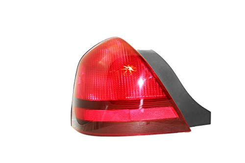 For 2003 2004 2005 2006 2007 2008 2009 2010 2011 Mercury Grand Marquis Rear Tail Light Taillamp Assembly Driver Left Side Replacement Capa Certified FO2800173