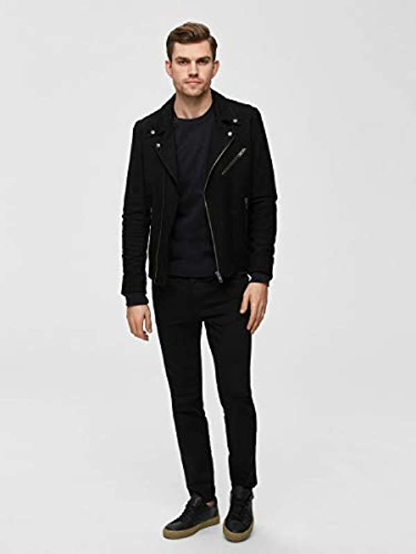 SELECTED HOMME Male Skinny Fit Jeans 1001 -: Odzież