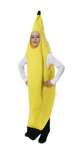 Children's Yellow Banana Fancy Dress Costume Age (Banana Girl Costume Fancy Dress)