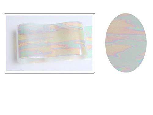 1PCS Nails Stickers Foil Transfer 3D Nail Art Decal Nail Tips Decor (Main Color - 1#) -