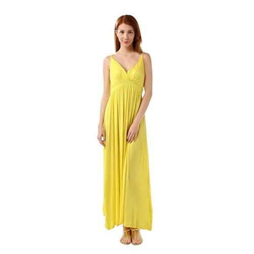 Outlet Marysgift Womens Plus Size Sleeveless Long Solid Slip Dress