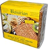 Bavarian Breads Rye, Whl W/Oats & Honey, 17.6-Ounce (Pack of 6)
