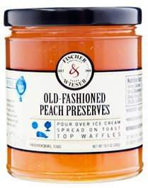 - Fischer & Wieser Old-Fashioned Peach Preserves 10 oz (Pack of 2)