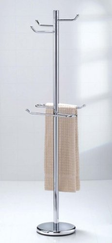 Taymor Chrome Robe & Towel Valet